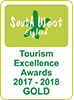 South West Tourism Gold Award