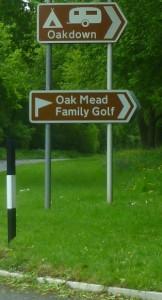 Oakdown Sign