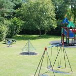Adventure play area at Oakdown Holiday Park