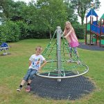 Kids playing at Oakdown Holiday Park