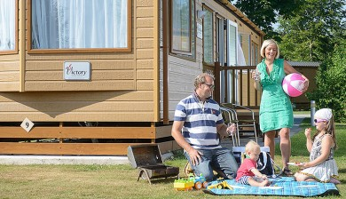 Caravan holidays in Sidmouth, Devon
