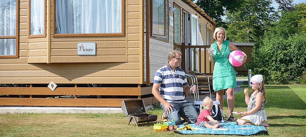 Caravan holidays in Sidmouth, Devon