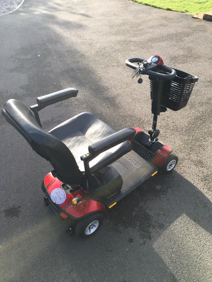 Welcome Madge Mobility Support Scooter At Oakdown