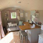 glamping holidays - shepherd's huts