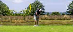 Golf at Oakdown Holiday Park