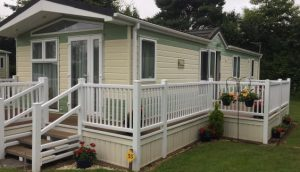 Oakdown Holiday Park caravan