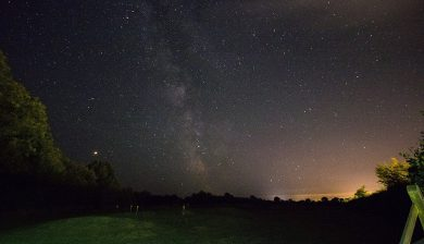 Night sky at Oakdown