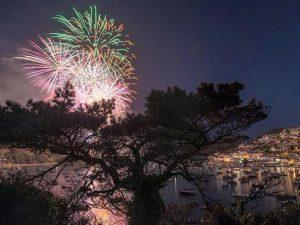 Salcombe Regatta Fireworks